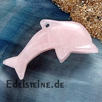 Rose Quartz Dolphin Big