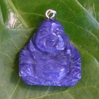 Buddha-Anhaenger aus Sodalith