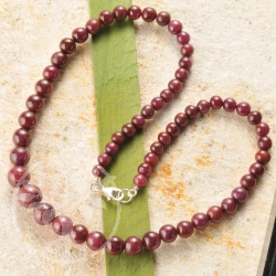 Ruby Necklace Unicate