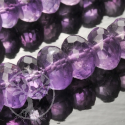 Amethyste Gemstone Beads Facetted