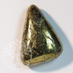 Pyrit Steinanhaenger Dreieck