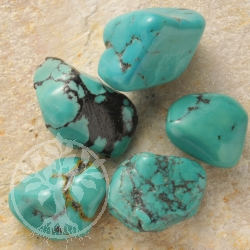 Turquoise Tumbled Stones 25-30 Grams 18-25mm Turquoise Handstone