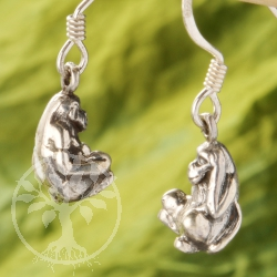 Ear Pendant Monkey