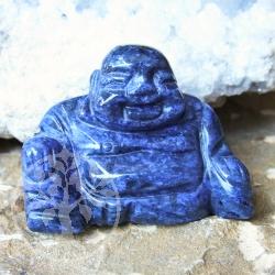 Dumortierite Gemstone Buddha