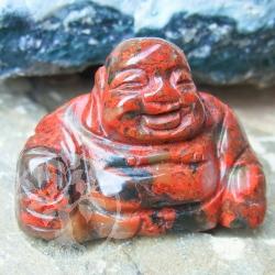 Brecciated Jasper Gemstone Buddha