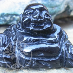 Obsidian Gemstone Buddha Decoration