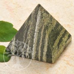 Silberauge Pyramide Edelsteinfigur
