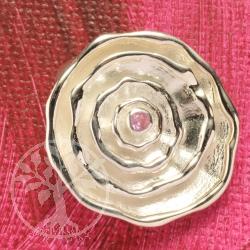 Silverpendant Pink Tourmaline