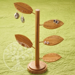 Wood Stand Tree Light