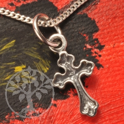 Silver Pendant Little Cross