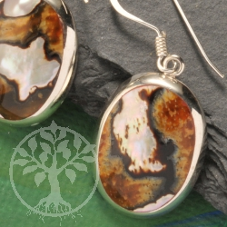 Earpendant Mother of Pearl