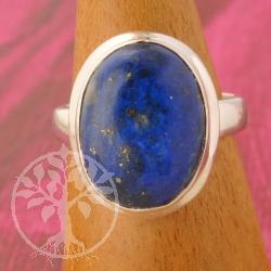Lapislazuli Ring Silber