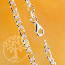 Figaro Silver Bracelet