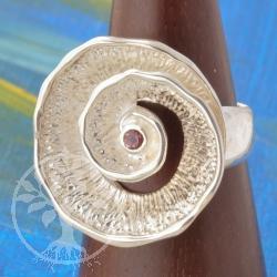 Silver Ring Pink Tourmaline