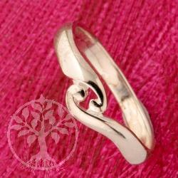 Silber Ring Yin Yan