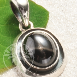 Sterndiopsid Silberanhaenger