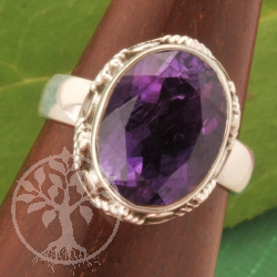 Amethyste Silver Ring 52/53 Sterlingsilver