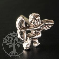 Cupid Silver Earring