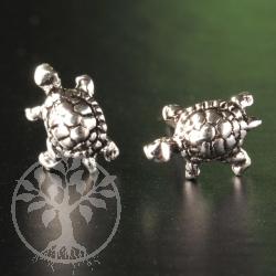 Tortoise Silver Ear Studs Silver 925