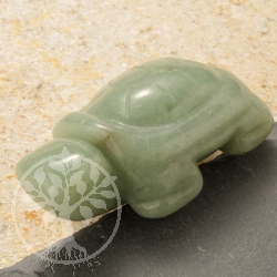 Aventurine Turtle Animal Figure