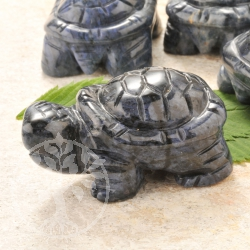 Dumortierite Gemstone Turtle