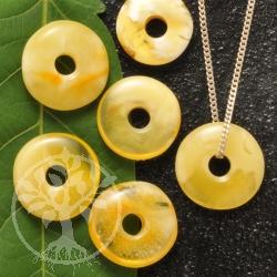 Amber Pendant Donut XS