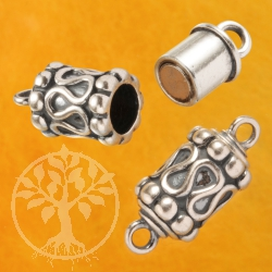 Magnetic Clasp Oxi Rolls Silver 925