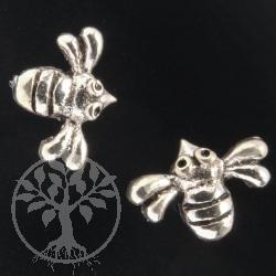 Bee Silver Earring