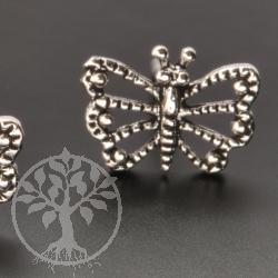 Butterfly Silver Earstud