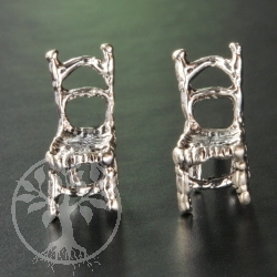 Chair Silver Earstud