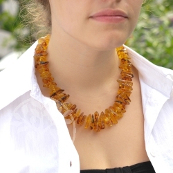 Amber Necklace Countrystyle