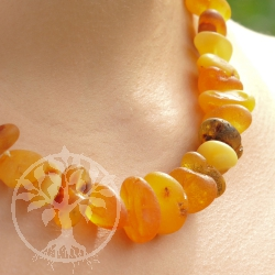 Amber Necklace Natur