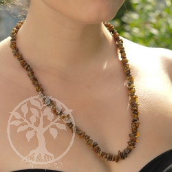 Amber Necklace Natur Chip