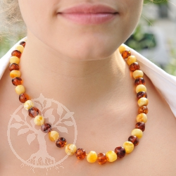 Amber Necklace Balls