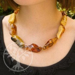 Amber Necklace Glossy