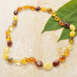 Amber Necklace Fine