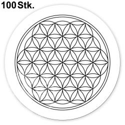 Flower of Life Sticker 100 Pieces