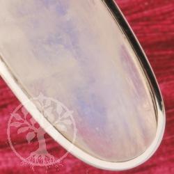 Regenbogenmondstein Silber Anhaenger