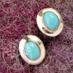Turquoise Earring Silver