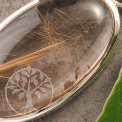 Rutilquarz Silber Anhaenger