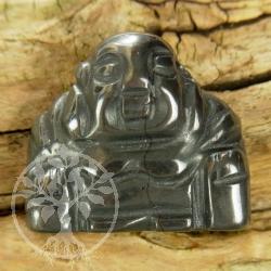 Hematite Buddha pendant gemstone