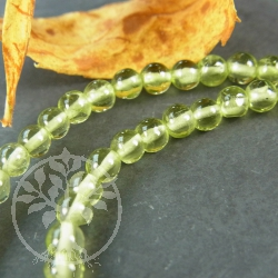 Peridote Necklace 3.5 mm