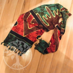Decorative Scarf Autumn Leaves