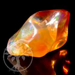 Fire Opal Tumbled Stone