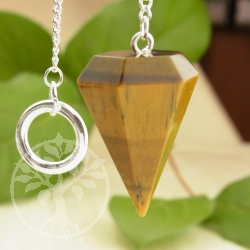 Golden Tiger Eye Pendulum