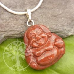 Red Jasper Buddha Pendant