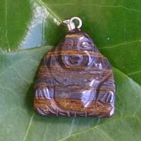 Buddha-Anhaenger aus Tigereisen