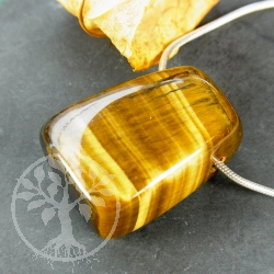 Tiger Eye Pendant Triangle