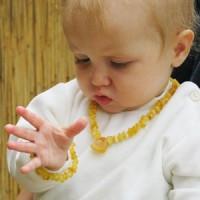 Children amber necklaces