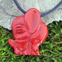 Indischer Elefant aus rotem Jaspis